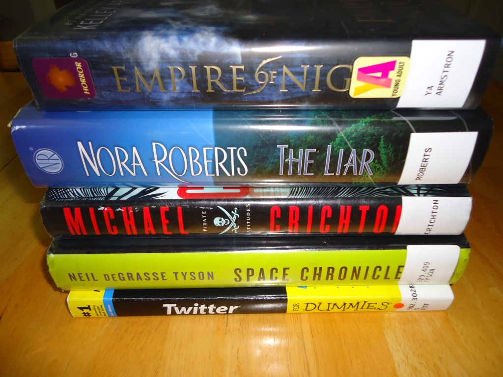 Library Stack 4/24/15